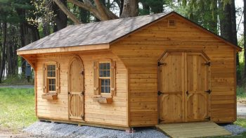 What are Quality Sheds Made From?